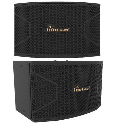 IDOlmain IPS-20 12-inch 3-Way High Output Full Range Loudspeakers w/ FREE Stands, Wires - NEW 2020 ( PAIR )