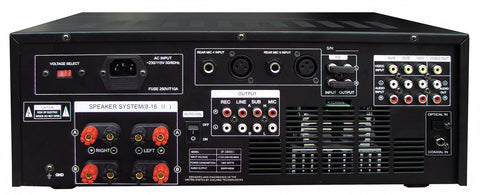 ( OPEN BOX - LIKE NEW ) IDOLpro IP-3800II 1300W Professional Digital Echo Mixing Amplifier With Optical Input,Separate Repeat & Delay Control NEW 2021