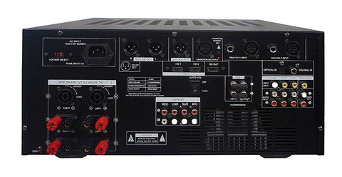 IDOLMAIN IP-5900 6000W Digital Echo Karaoke Mixing Amplifier With Repeat-Delay Control, HDMI-Optical Inputs NEW 2020