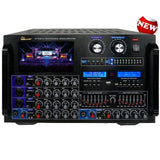 IDOLMAIN IP-7000 II 8000W Max Output Professional Digital Console Mixing Amplifier With 7 LCD Screen Monitor Built-In, Headphone Out, Recording, Guitar Level Control & Digital Optical Input NEW 2019