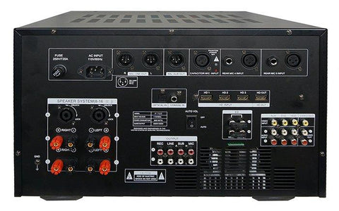 ( OPEN BOX - LIKE NEW ) IDOLMAIN IP-7500 8000W Max Output Professional Digital Console Mixing Amplifier With 7 LCD Screen Monitor Built-In, Bluetooth, Recording, Guitar Level Control & Digital Optical ( MODEL 2020 )