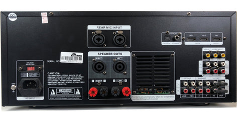IDOLPRO IP-3600II 1300W Mixing Amplifier With Bluetooth, Recording, Optical-HDMI-Coaxial Inputs NEW 2021 - Improved