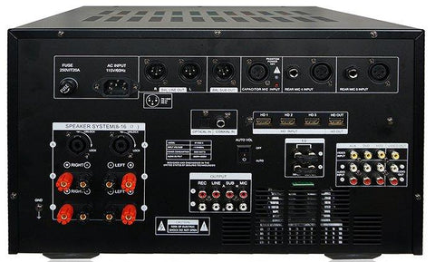 IDOLMAIN IP-7000 II 8000W Max Output Professional Digital Console Mixing Amplifier With 7 LCD Screen Monitor Built-In, Headphone Out, Recording, Guitar Level Control & Digital Optical Input NEW 2020