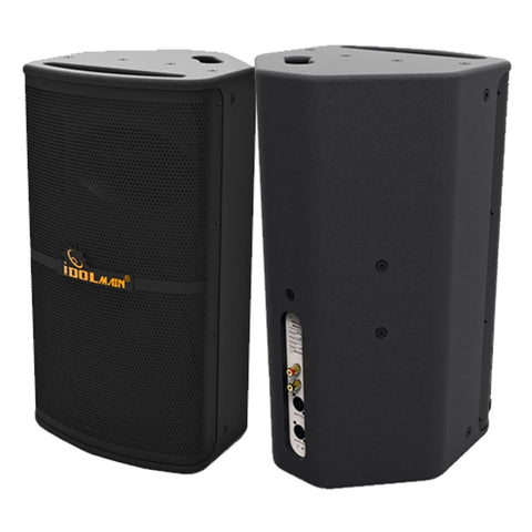 IDOLMAIN IPS-P10 1600W 12 High Output Full Range Karaoke Loudspeaker, FREE Stands, Wires - Model 2020