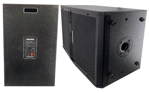 Singtronic KS-1500Pro Professional 1500W + 1500W Vocalist Karaoke Speaker System (Pair) Newest: 2020 Built in Compressor & 12 Woofer, Free Stands & Wires