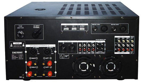 SINGTRONIC KA-4500DSP PROFESSIONAL DIGITAL CONSOLE DSP MIXING AMPLIFIER W-EQUILIZER & RECORDING ( MODEL 2021 )