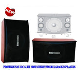 SINGTRONIC KS-2000 PROFESSIONAL VOCALIST 1500W CHERRY WOOD KARAOKE SPEAKER - NEWST MODEL 2020 - (PAIR)