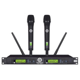 SINGTRONIC UHF-4000Pro PROFESSIONAL DIGITAL DUAL WIRELESS MICROPHONE KARAOKE SYSTEM BUILT IN FEEDBACK CONTROL