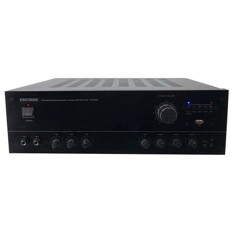Singtronic KA-500M Professional 1000W AV Mixing Amplifier Karaoke Newest Model: 2019 Built in USB Voice Recording Function