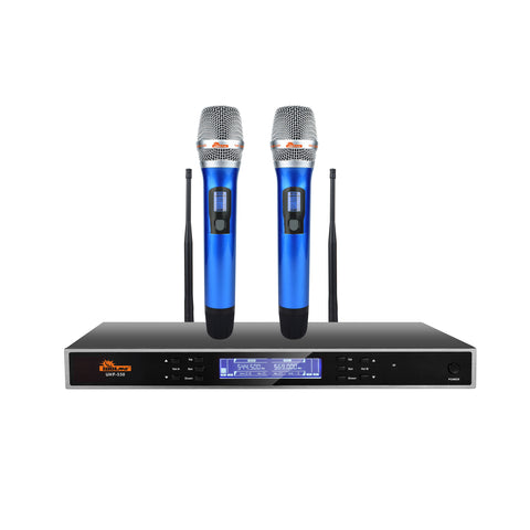 IDOLpro UHF-530 Advanced Technology Automatic Mute And Shut Down Dual Wireless Microphones NEW 2021