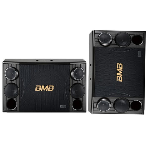 BMB CSD-2000 - 1200W - 12 INCH - 3-Way Speakers (Pair) - FREE Wires & 2 Heavy Stands ( MODEL 2020 )