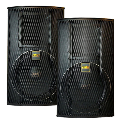 "BMB JAPAN CSS-2012 - MODEL 2020- TOTAL 4000 WATTS - 12"" Professional Speakers ( PAIR ) - FREE STANDS, SPEAKON WIRES"