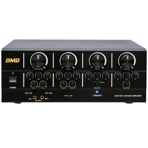 BMB DAH-100 200W Karaoke Mixing Amplifier with BluetoothBMB DAH-100 200W Karaoke Mixing Amplifier with Bluetooth