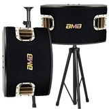 BMB CSV-900 (SE) 1200W - 12 INCH - 3-Way Bass Reflex 5 Speakers (Pair) - FREE 2 Wires & 2 Heavy Stands ( MODEL 2020 )