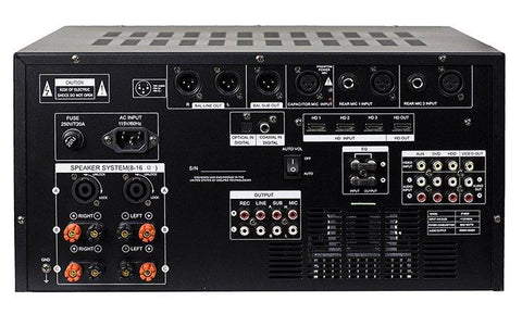 IDOLMAIN IP-6500 6000W Karaoke Mixing Amplifier with Digital Sound Effects And Optical Input NEW- Model 2021