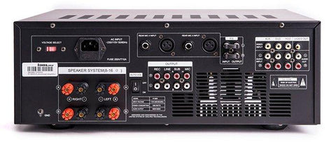 IDOLPRO IP-3800 1300W Professional Digital Echo Mixing Amplifier With Separate Repeat & Delay Control NEW 2020