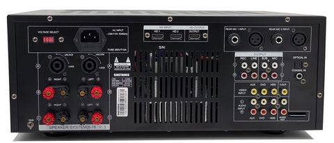 Singtronic KA-1500EQ Professional DJ/KJ Digital 2000W Mixing Amplifier Karaoke, HDMI, USB Record, Optical, Bluetooth & Equalizer