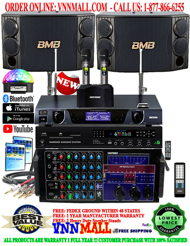 KARAOKE SYSTEM 13 - 2000 WATTS - KA-2000-DSP - UHF-2500 - BMB CSD-880 - 6,000 GB HDD - 60,000 SONG - RECORDABLE - LIVE TV - MODEL: 2020