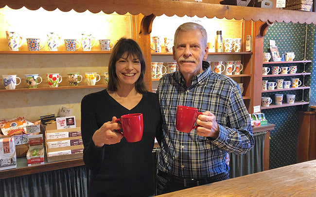 lisa and dean stephens of lambertville trading company