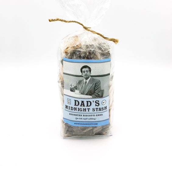Dad's Midnight Stash Biscotti Bag at Lambertville Trading Company