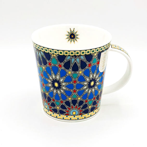 dunnoon sheikh fine bone china mug with 22 carat gold at lambertville trading company