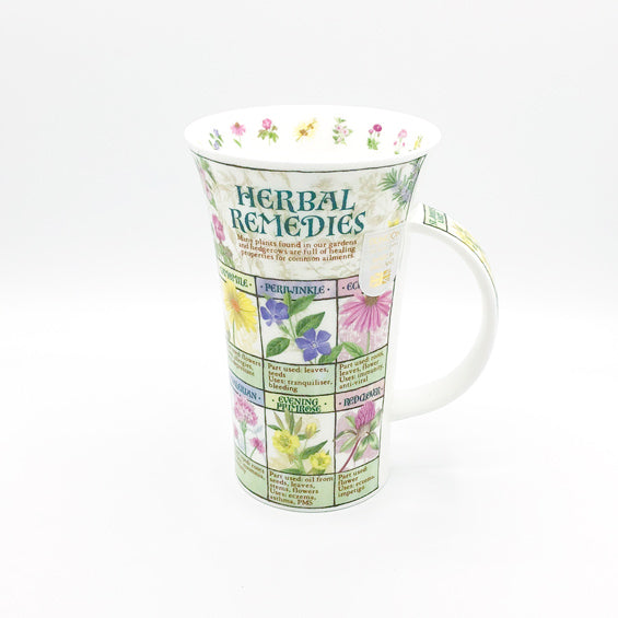 dunnoon herbal remedies fine bone china mug at lambertville trading company