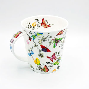 dunnoon paradise butterfly fine bone china mug at lambertville trading company