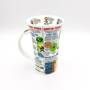 dunnoon physics fine bone china mug at lambertville trading company