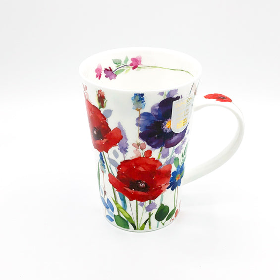 dunnoon wild garden fine bone china mug at lambertville trading company