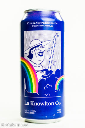 La Knowlton Co. - Cream ale traditionnelle