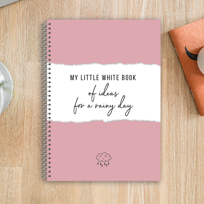 My Little White Book of Ideas for a Rainy Day