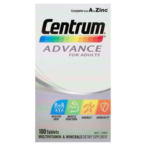 Centrum Advance For Adults Tablets 100 Tablets - $24.99