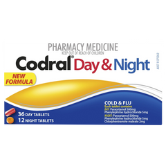 Codral PE Day & Night 48 Tablets