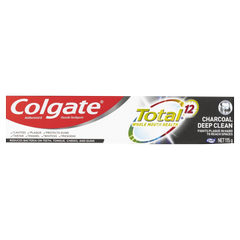 Colgate Total Charcoal Antibacterial Fluoride Toothpaste 115g - $5.49