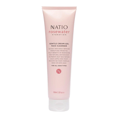 Natio Rosewater Hydration Gentle Face Cleanser 100mL