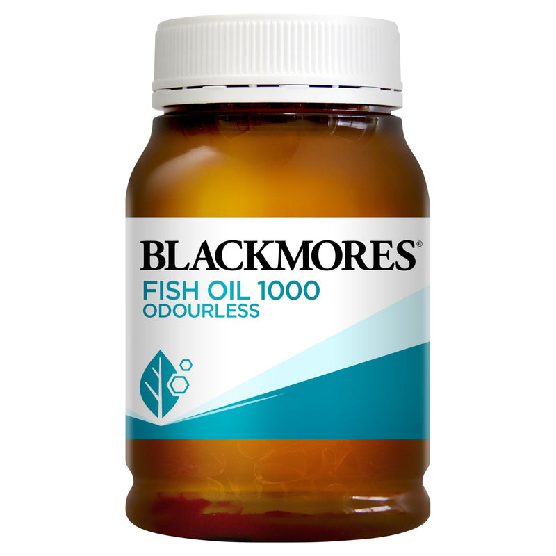 Blackmores Fish Oil 1000 Odourless 200 Capsules - Vital Pharmacy Supplies