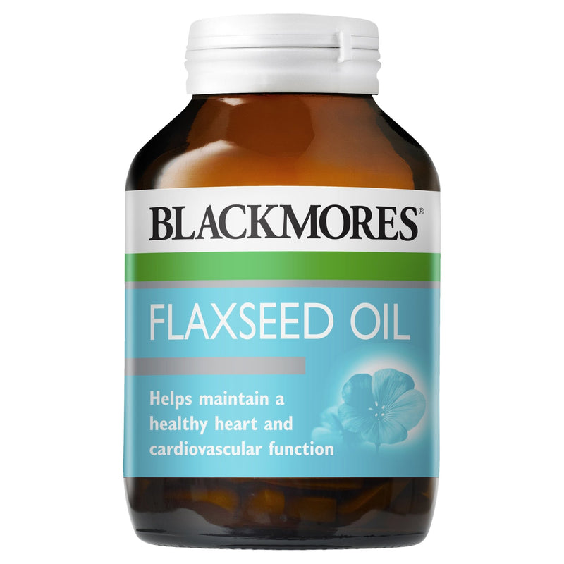 Blackmores Flaxseed Oil 100 Capsules - Vital Pharmacy Supplies