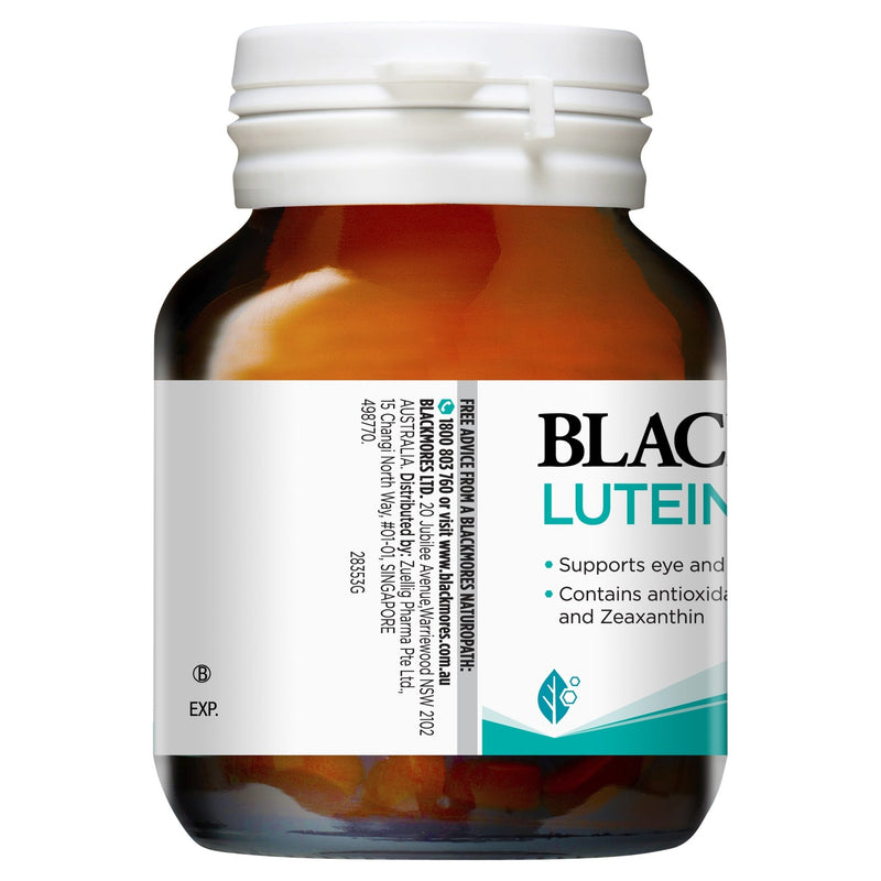 Blackmores Lutein Defence 60 Tablets - Vital Pharmacy Supplies