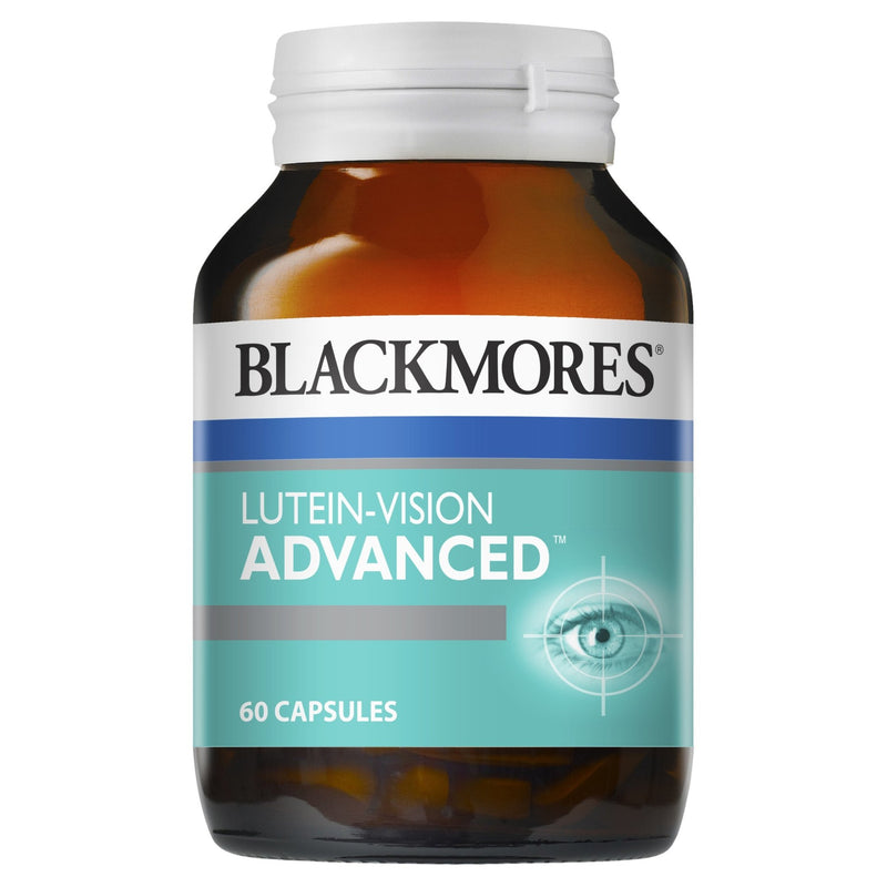 Blackmores Lutein Vision Advanced 60 Capsules - Vital Pharmacy Supplies