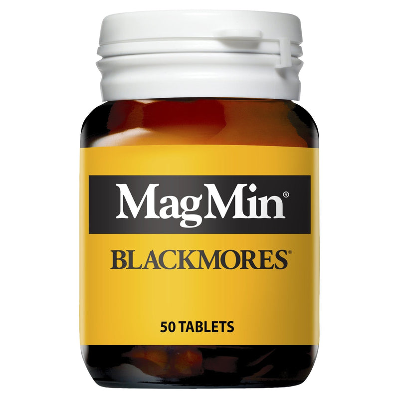 Blackmores MagMin 50 Tablets - Vital Pharmacy Supplies