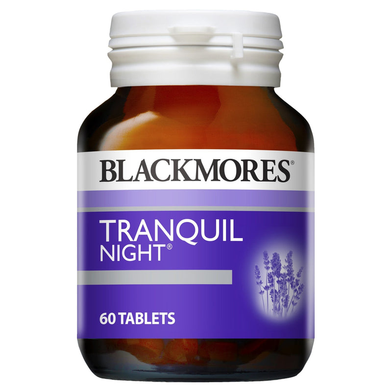 Blackmores Tranquil Night 60 Tablets - Vital Pharmacy Supplies