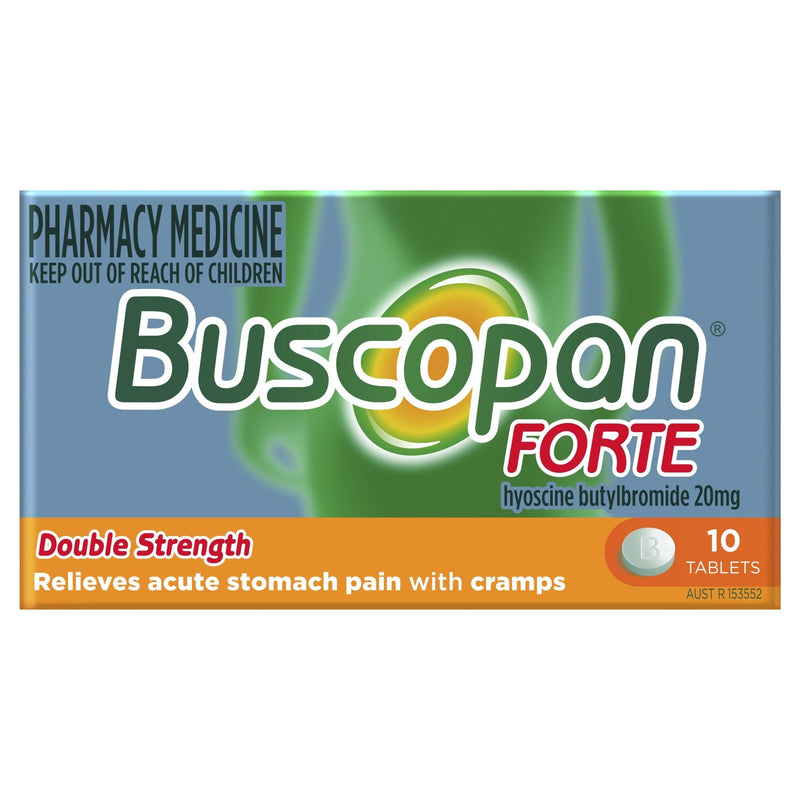 Buscopan Forte Tablets 10 Pack - Vital Pharmacy Supplies