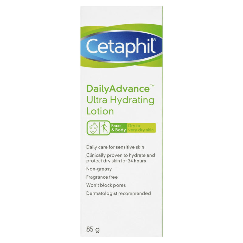 Cetaphil Daily Advance Ultra Hydrating Lotion 85g - Vital Pharmacy Supplies