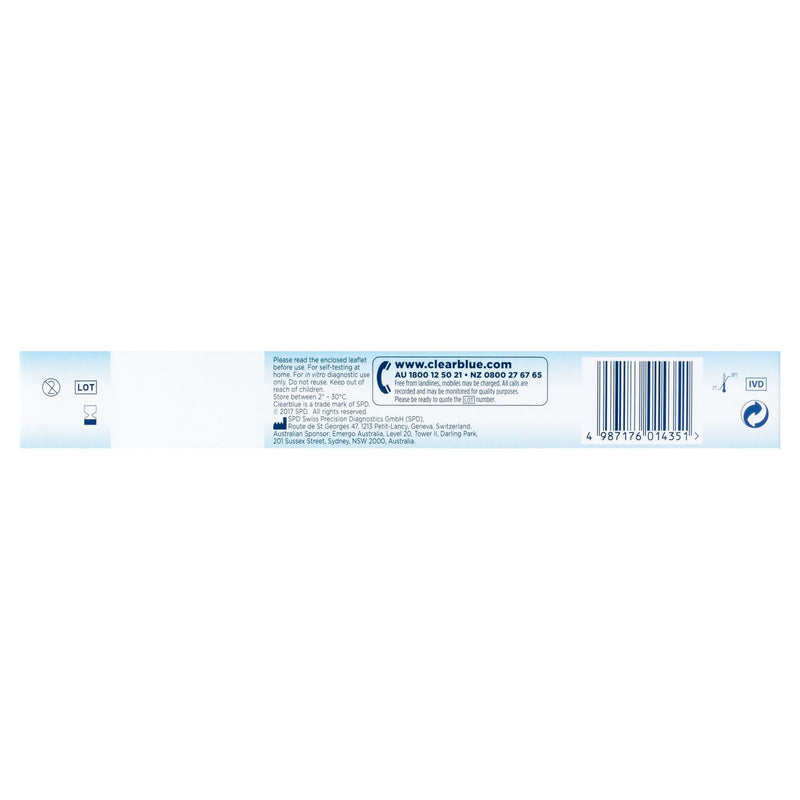 Clearblue Early Detection Pregnancy Test, Kit Of 3 Test - Vital Pharmacy Supplies