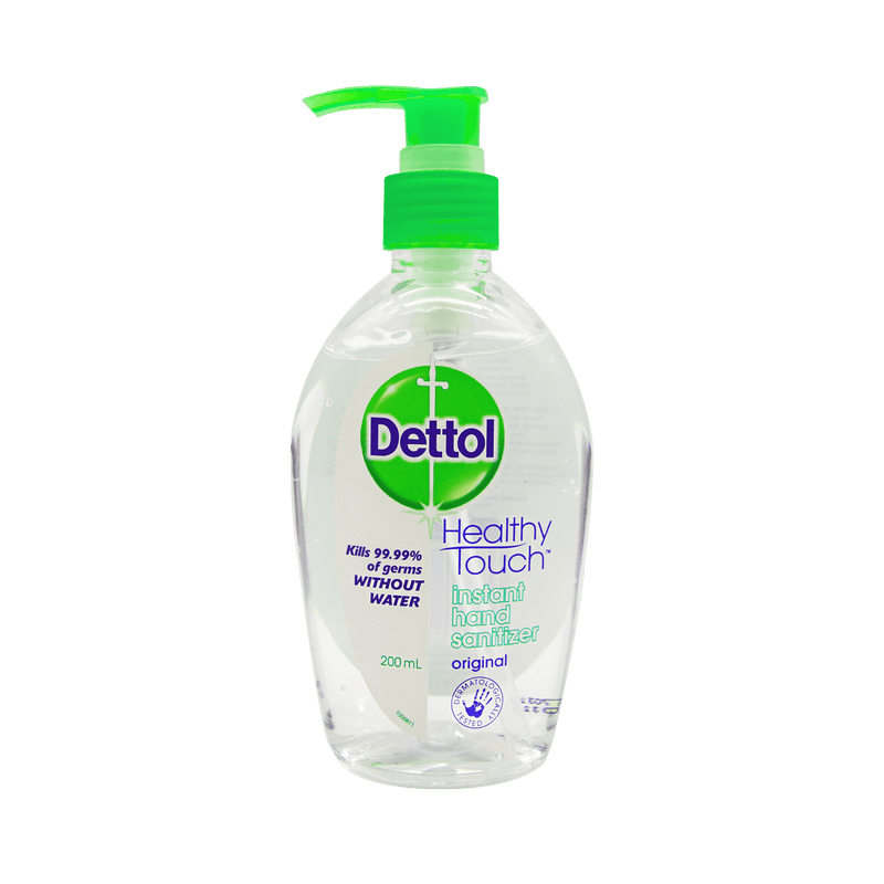 Dettol Instant Hand Sanitizer Original 200mL - Vital Pharmacy Supplies