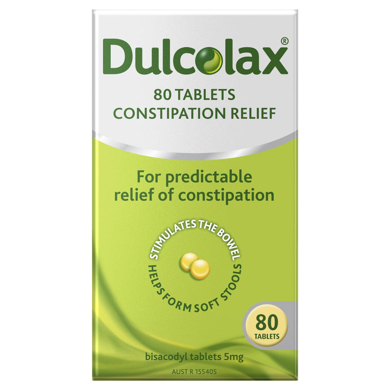 Dulcolax Tablets 80 Pack - Vital Pharmacy Supplies