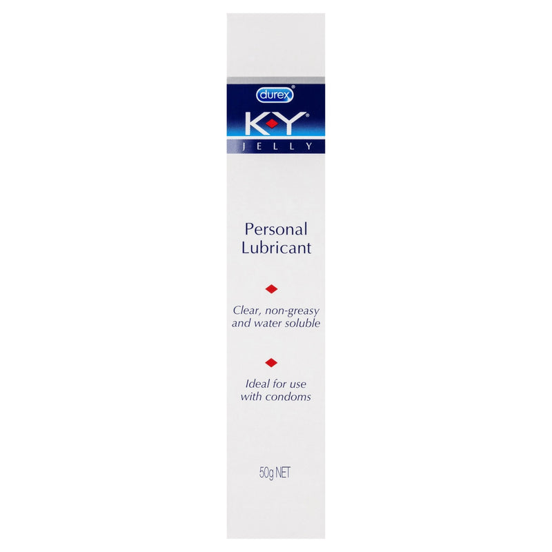 Durex K-Y Personal Lubricant Use with Condoms 50g - Vital Pharmacy Supplies
