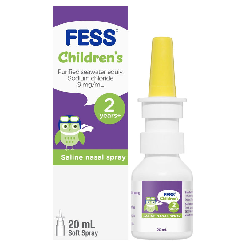 FESS Children's Nasal Spray 2 Years+ 20mL - Vital Pharmacy Supplies