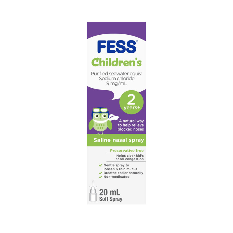 FESS Children's Nasal Spray 2 Years+ 20mL