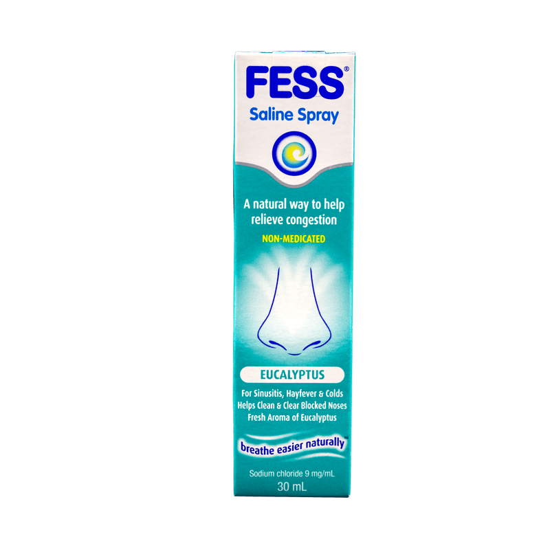 FESS Eucalyptus Nasal Spray 30mL - Vital Pharmacy Supplies